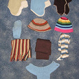 Отдается в дар шапки/шарфы/варежки