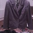 Отдается в дар Ретро пиджак из искусственного бархата