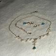 Отдается в дар ожерелье и серьги-капельки