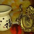 Отдается в дар Лампадка в китайском стиле и дракон