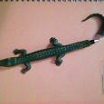 Отдается в дар Ручка шариковая в виде крокодила