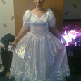 Отдается в дар Свадебное платье-полуфабрикат
