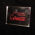 Отдается в дар Магнит зеркальный с Coca-Cola