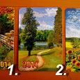 Отдается в дар Карманные календари (природа)