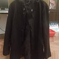 Отдается в дар Чёрное мужское пальто Uniqlo
