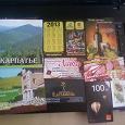 Отдается в дар календарики, визитки, марки.рекламные буклетики из Закарпатья