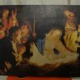 Отдается в дар картина по дереву «Рождение Христа»