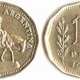 Отдается в дар Монета Аргентина 10 песо 1963 г