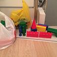 Отдается в дар Конструктор детский пластмассовый