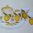 Отдается в дар Набор для специй и баночка для меда «Лимон»