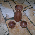 Отдается в дар Графинчик и стопки набор для распития сакэ