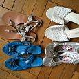Отдается в дар Летняя женская обувь рр 37-38