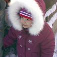 Отдается в дар Зимняя куртка и комбинезон на девочку