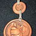 Отдается в дар Сувенирная медаль из глины «Крым»