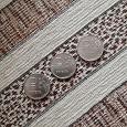 Отдается в дар Три монеты «Рубль новый»