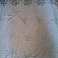 Отдается в дар кусок тюли серого цвета + тюлевая розовая накидка на кровать