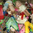 Отдается в дар ДВА пакета игрушек.