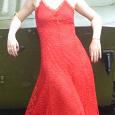 Отдается в дар Платье красное 44-46 на рост 175