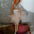 Отдается в дар Кукла-балерина ручной работы