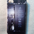 Отдается в дар Задняя панель-чехол на Iphone 4, 4s