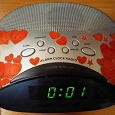 Отдается в дар Радио-часы-будильник Vitek VT-3517
