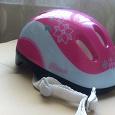 Отдается в дар Шлем велосипедный для девочки