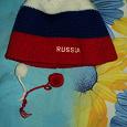 Отдается в дар шапка спортивная РОССИЯ