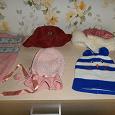Отдается в дар Детские шапочки для девочки