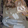 Отдается в дар Интерьерная, или будуарная кукла в разобранном виде