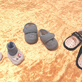 Отдается в дар Ботиночки-тапотуши для малыша