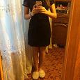 Отдается в дар черное платье 42