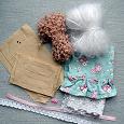 Отдается в дар Набор для изготовления текстильной куклы