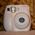 Отдается в дар Фотокамера моментальной печати FujiFilm INSTAX MINI 7S