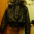 Отдается в дар курточка р.L с капюшоном -новая