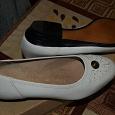 Отдается в дар Кожаные туфли новые 37