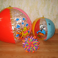Отдается в дар шарики-мячики