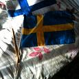 Отдается в дар Флаг Финляндии и Швеции