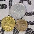 Отдается в дар Три монетки