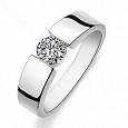 Отдается в дар Новое серебряное кольцо 925 проба 17 размер
