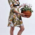 Отдается в дар Платье для кормления «Флоренция»: «Зеленые цветы» Milk Rivers Новое