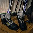 Отдается в дар Лыжные ботинки 38 размера