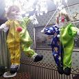 Отдается в дар 2 куклы клоуна-марионетки