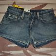 Отдается в дар Шорты джинсовые женские новые на 60 см талии и 84 бедер
