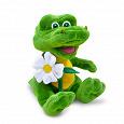 Отдается в дар Мягкая игрушка «Крокодил Гоша с ромашкой», Lava