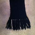 Отдается в дар шарф черный длинный