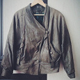Отдается в дар Женская куртка из натуральной кожи