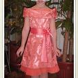 Отдается в дар Платье девичье нарядное