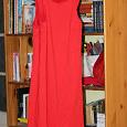 Отдается в дар Короткое красное платье футляр Incity 42 размер, новое, 2 шт.