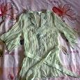 Отдается в дар блузка нежно зеленая 44 р-р