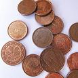 Отдается в дар Монеты 1 и 2 евро-цента